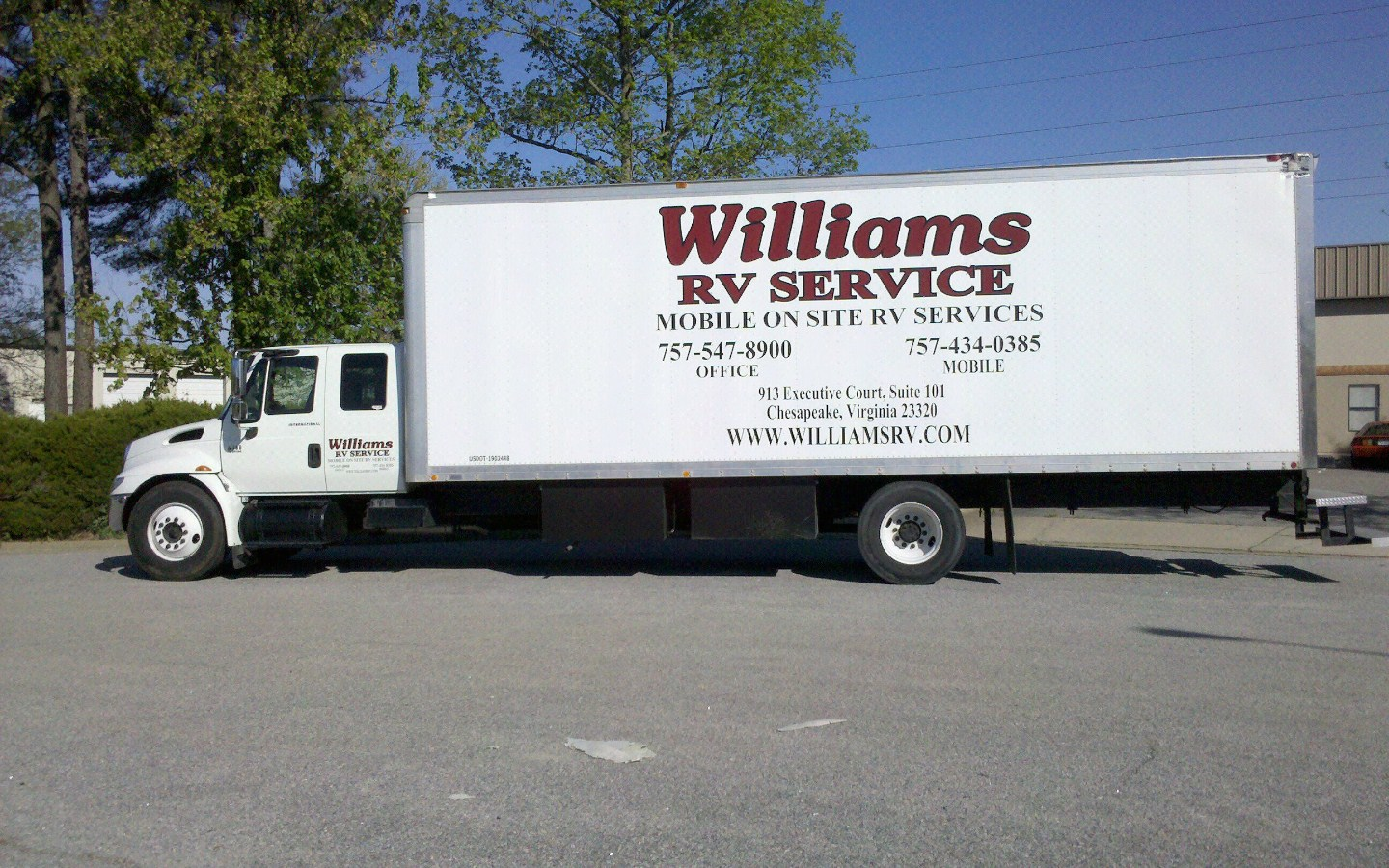 WILLIAMS RV SERVICE